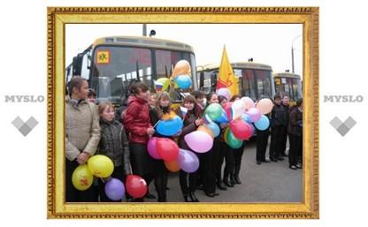 В Воловском районе развивают школьный транспорт