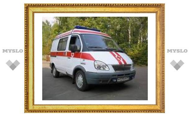 В аварии в Тульской области пострадали 13 человек