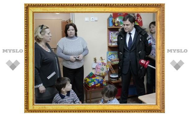 """Владимир Груздев: """"Детям-сиротам мы сделаем видеопаспорта!"""""""