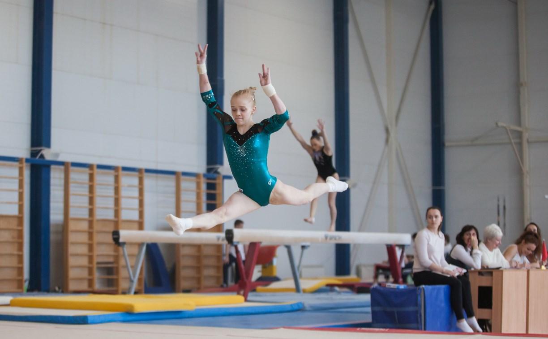 В Туле юные гимнастки соревнуются на первенстве ЦФО: фоторепортаж