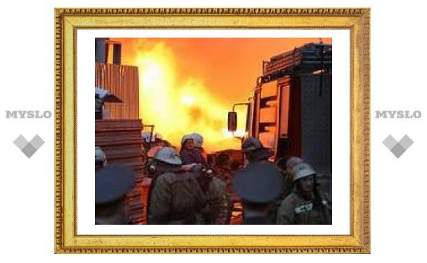 В Ясногорске сгорела пенсионерка