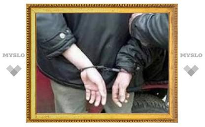 В Богородицке задержали грабителя