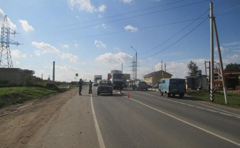 В Тульской области пешеход попал под колеса «Нивы»