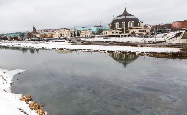 Паводок в Туле ожидается в начале марта