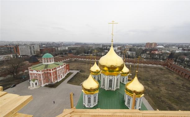 Губернатор поблагодарил туляков за колокольню Успенского собора