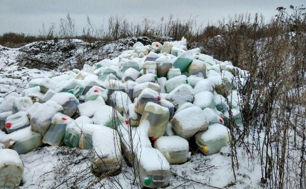 Тульское предприятие «Щегловский вал» привлечено к ответственности за свалку опасных отходов