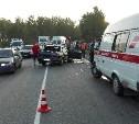 В аварии на автодороге «Тула-Белев» пострадали три человека