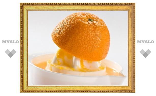 В Туле запретят продавать сок из бразильских апельсинов