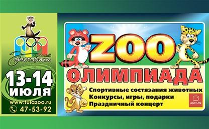 Дом.ru приглашает на Зоо-олимпиаду!