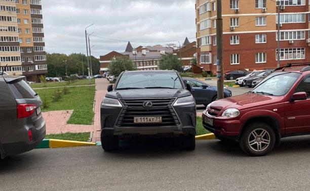 «Накажи автохама»: очередная подборка «лучших» парковщиков Тулы