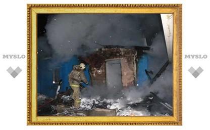 Крупный пожар в Туле унес жизни пяти человек