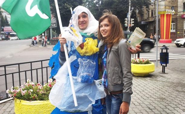 Туляков призывают жить без пластиковых пакетов