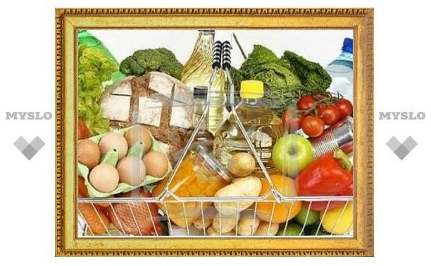 Почти 2367 рублей - стоимость минимального набора продуктов в Туле
