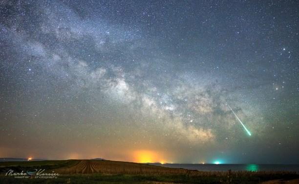В апреле можно будет увидеть звёздный дождь