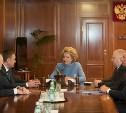 Валентина Матвиенко: «Опыт Тульской области нужно распространить по другим регионам»
