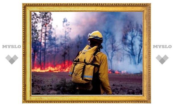 В Туле принимают меры по борьбе с огнем в пожароопасный период