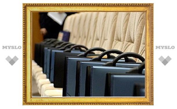 Оптимизицация муниципальных служащих Тулы завершится к концу 2013 года