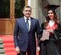 Алексей Дюмин вручил красные дипломы выпускникам магистратуры ТулГУ