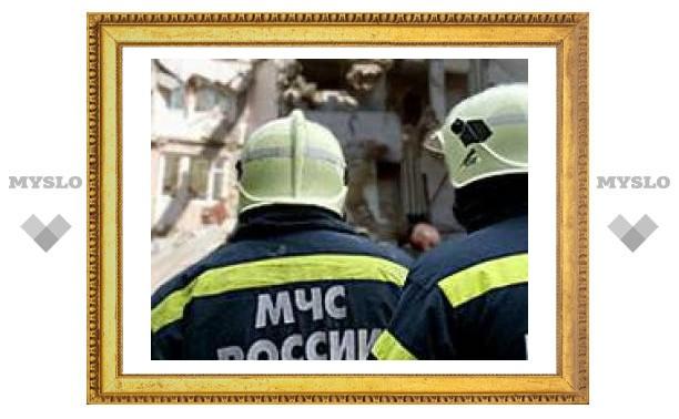 Тульские солдаты МЧС спасли Подмосковье