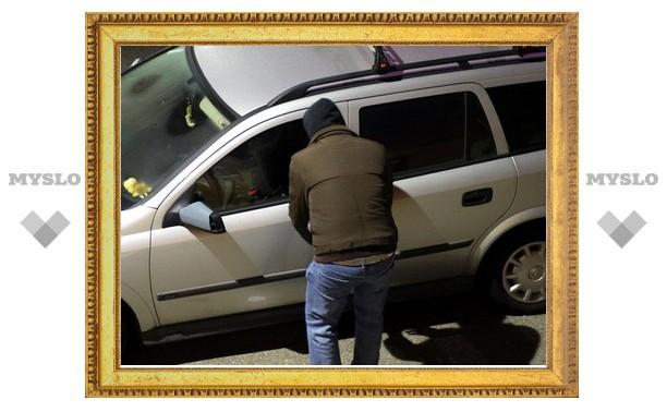 В Тульской области задержаны серийные автоворы