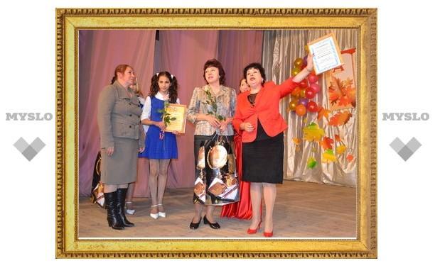 Тульскому учителю вручили полмиллиона рублей