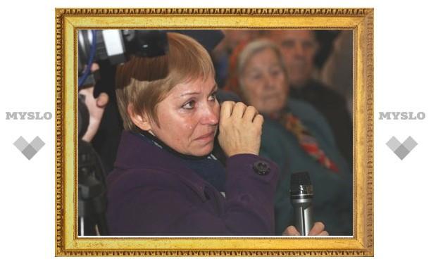 На встрече с губернатором в Узловой жители плакали