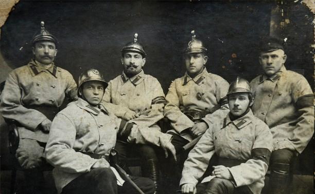 История тульской пожарной службы и МЧС