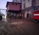 В здании Тульского комбината хлебопродуктов произошло задымление
