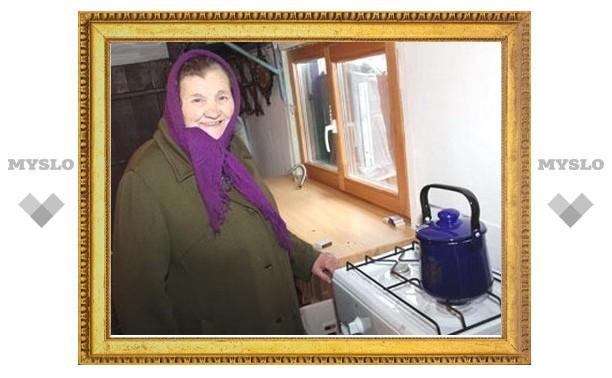 В 2012 году в 156 домов в Суворовском районе проведут газ