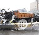В Туле упавшая стрела автокрана раздавила водителя МАЗа