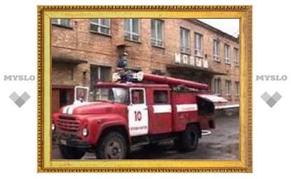 Пожар в тульской больнице