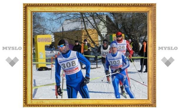 В Богородицке прошла лыжня Илюхина