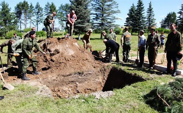 В Белеве перезахоронили советских воинов, погибших в Великой Отечественной войне