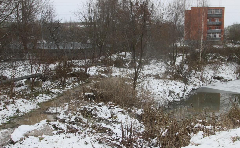 В Туле на Зеленстрое канализация сливается в пруды