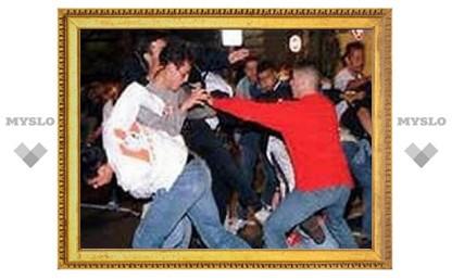 В драке под Тулой пострадало более 10 подростков