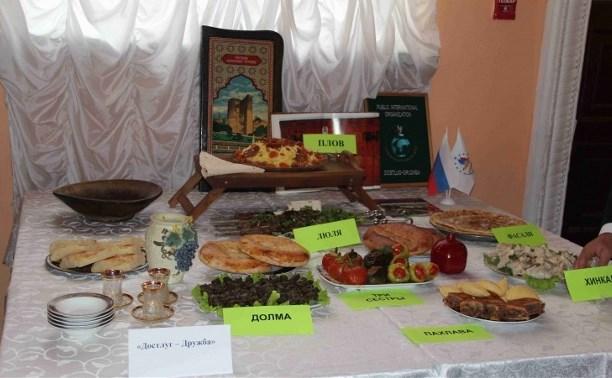 В Туле состоялся региональный фестиваль национальной кухни «Радуга вкуса»