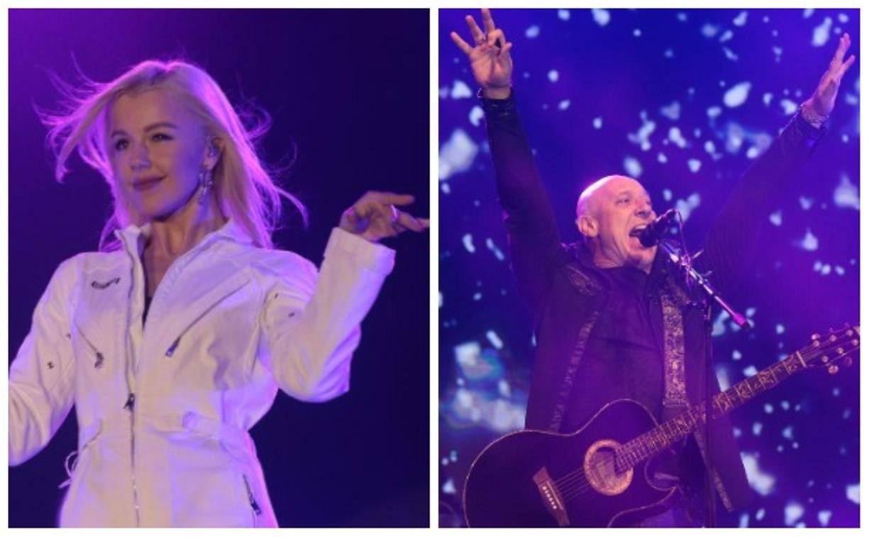 Праздничный концерт: для туляков выступили Юлианна Караулова и Денис Майданов