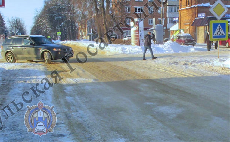 В Кимовске «десятка» сбила женщину на пешеходном переходе