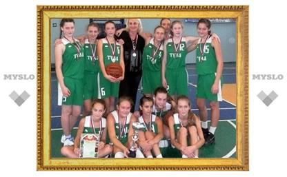 Тульская ДЮСШ №5 вновь сильнейшая в баскетболе