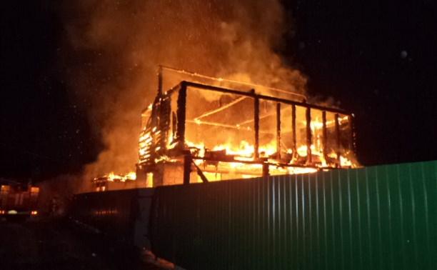 Тульские следователи выясняют обстоятельства гибели на пожарах 4 человек
