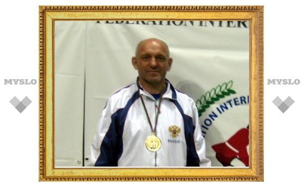 Тульский самбист Сергей Самойлов стал сильнейшим на планете