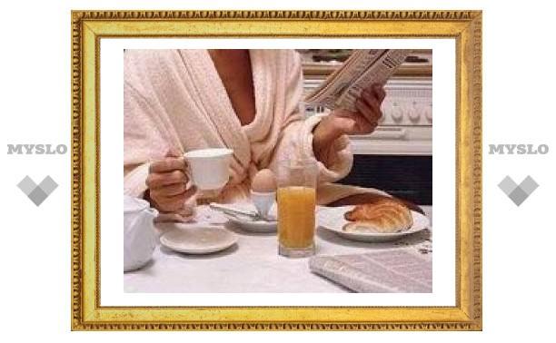 Плотный завтрак приводит к ожирению