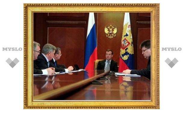 Медведев пригрозил отправить министров на горящие торфяники