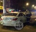 Погоня в Туле: водитель Hyundai перевернулся, удирая от гаишников
