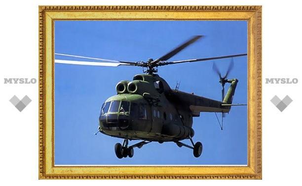В Томской области упал вертолет Ми-8