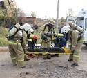 Областная поисково-спасательная служба провела учения