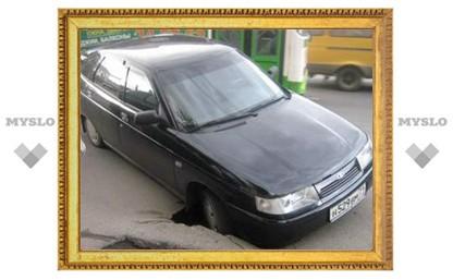 Четверть всех аварий в Тульской области в 2012 году случились из-за плохого состояния дорог