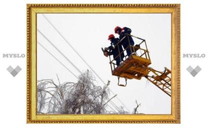 Подмосковным деревням отключат электричество