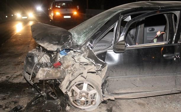 В Туле в ДТП пострадали два взрослых и два ребенка