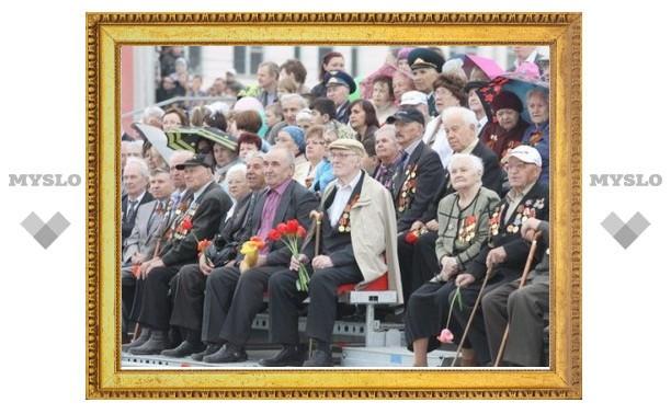 К Дню Победы тульским ветеранам купят 600 плащей